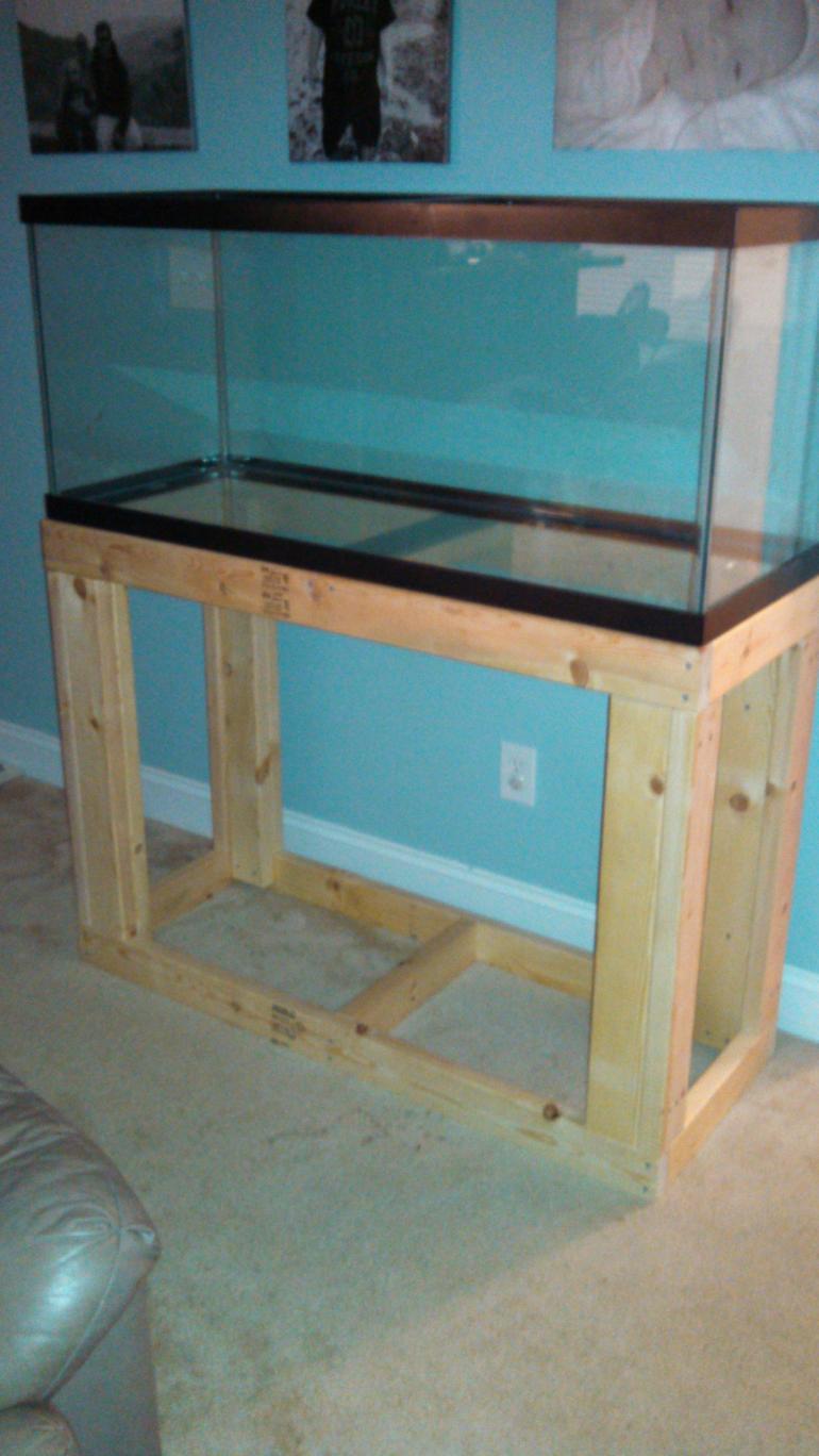 75 Gallon Stand Build Reef2reef Saltwater And Reef Aquarium Forum