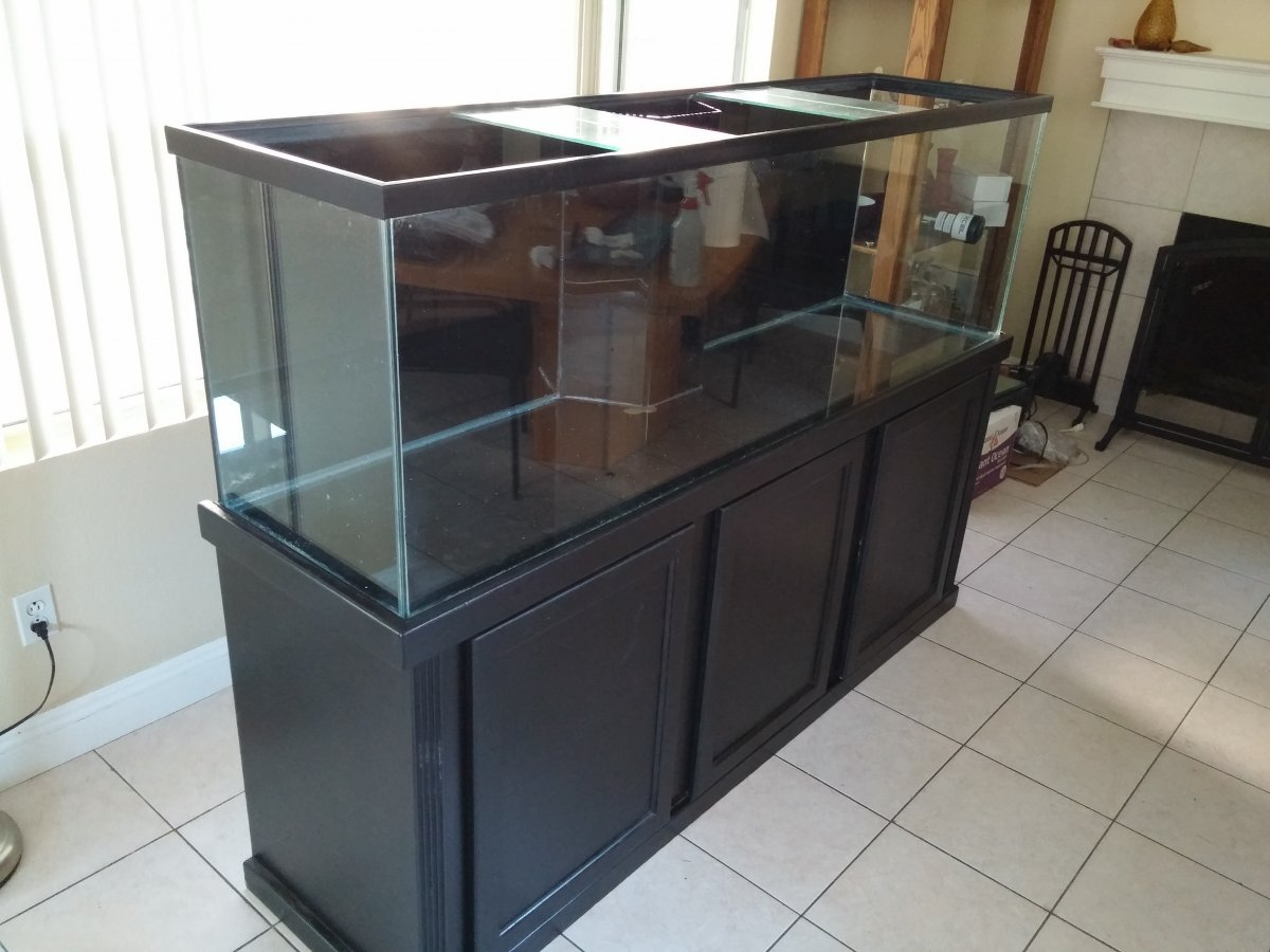 135 gallon reseal for How to reseal a fish tank