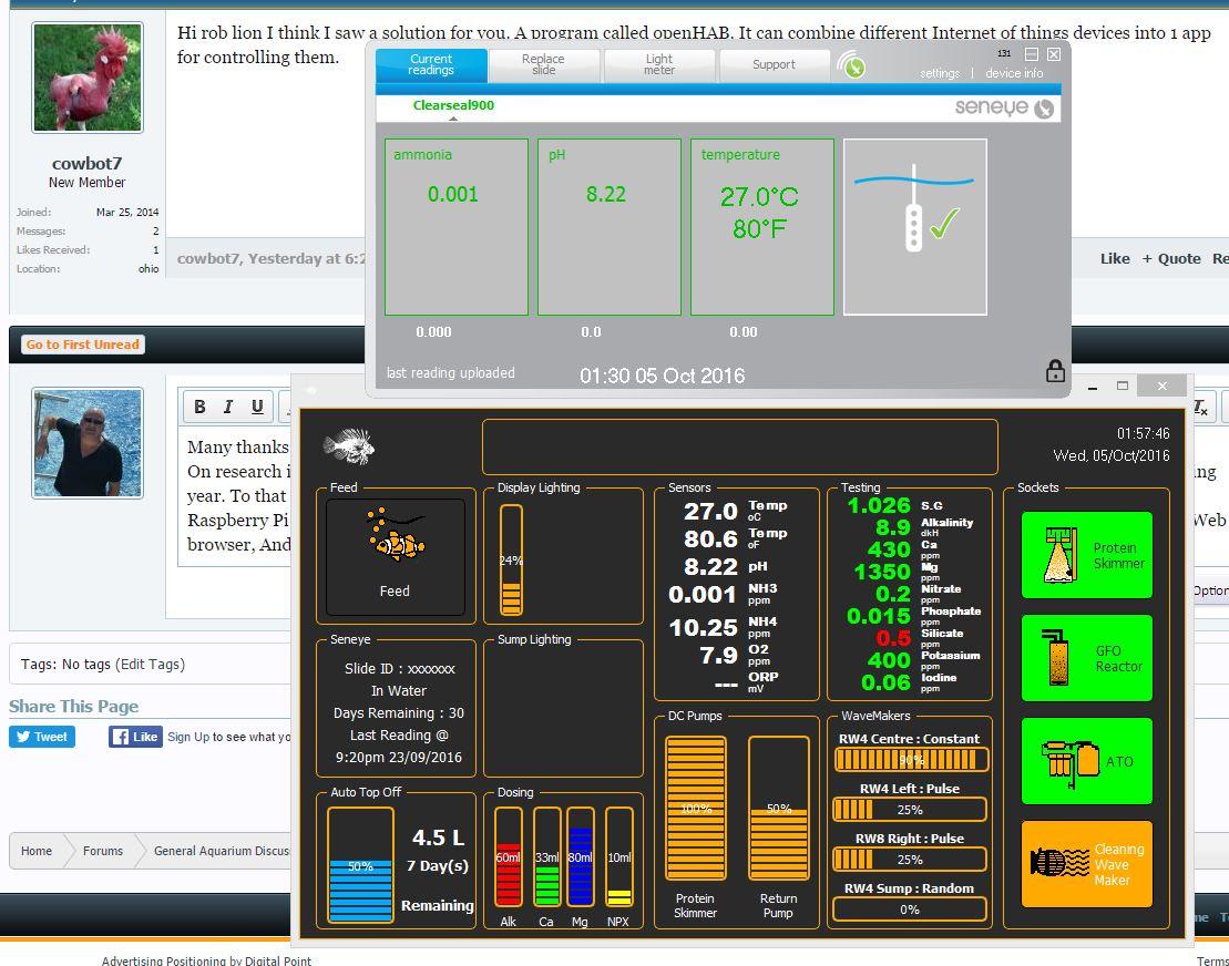 Has anyone created a full Raspberry Pi Aquarium monitoring/control