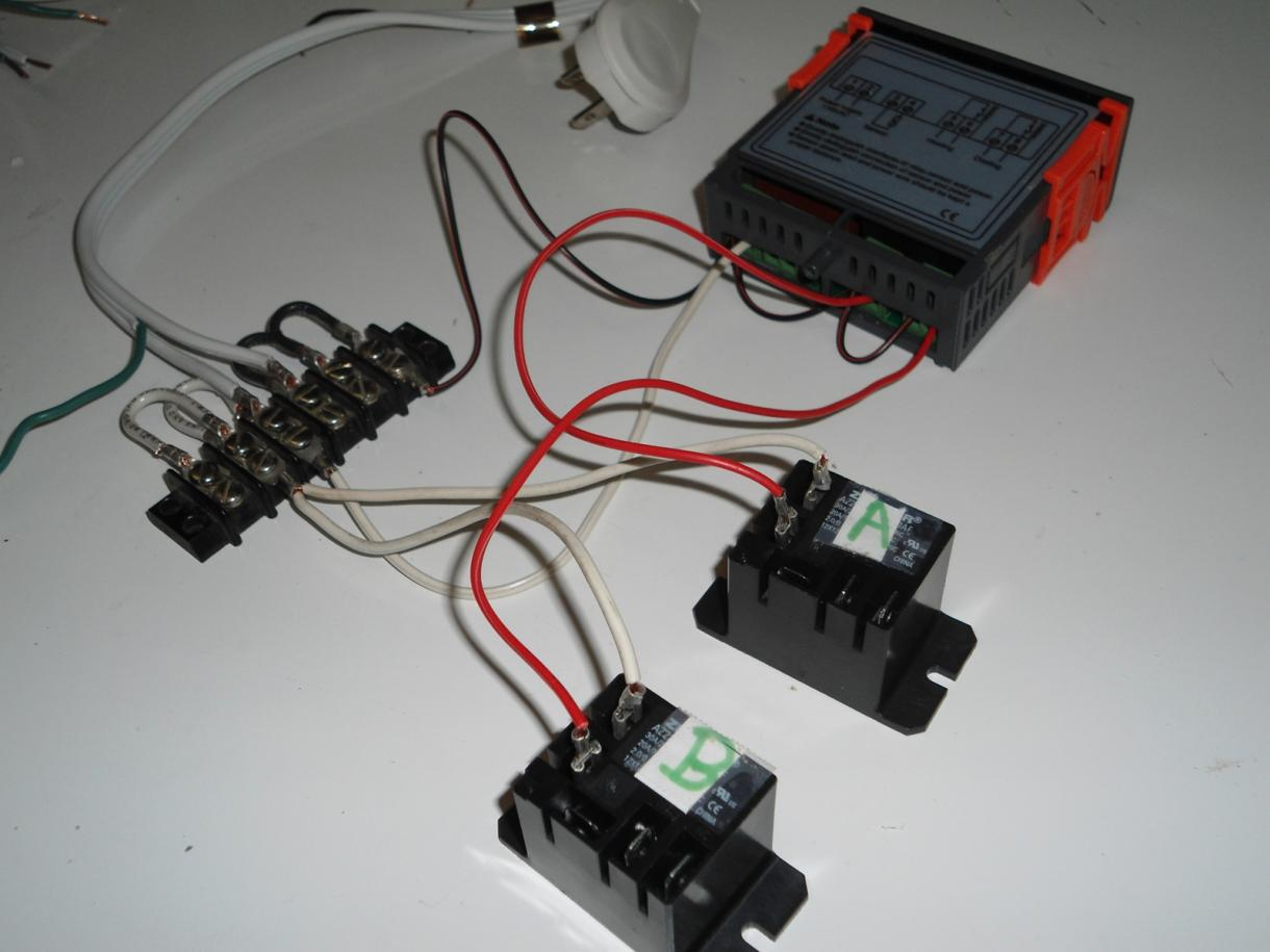 wiring an stc 1000 heat and cool thermostat step by step stc 1000 wiring diagram at panicattacktreatment.co