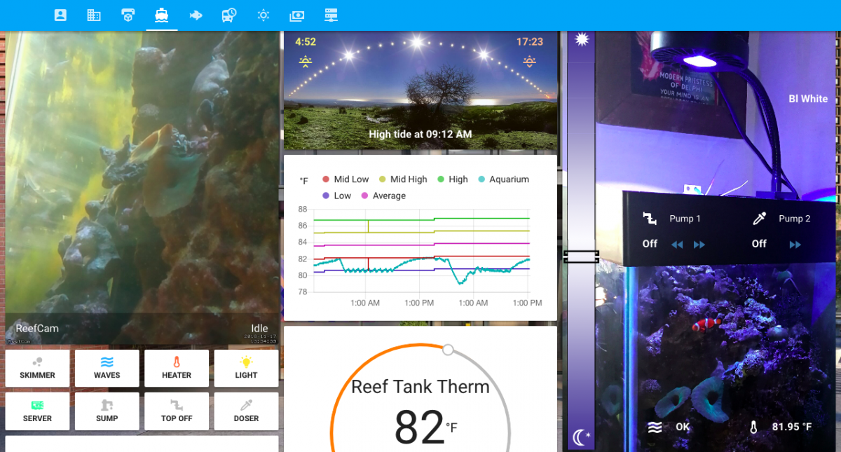 Reef-pi + Home Assistant Build | REEF2REEF Saltwater and
