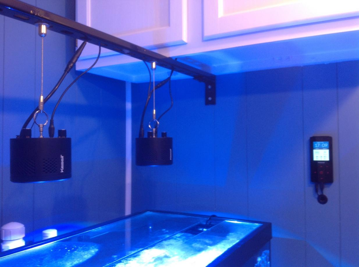Kessil Pendant Mounting Ideas Reef2reef Saltwater And
