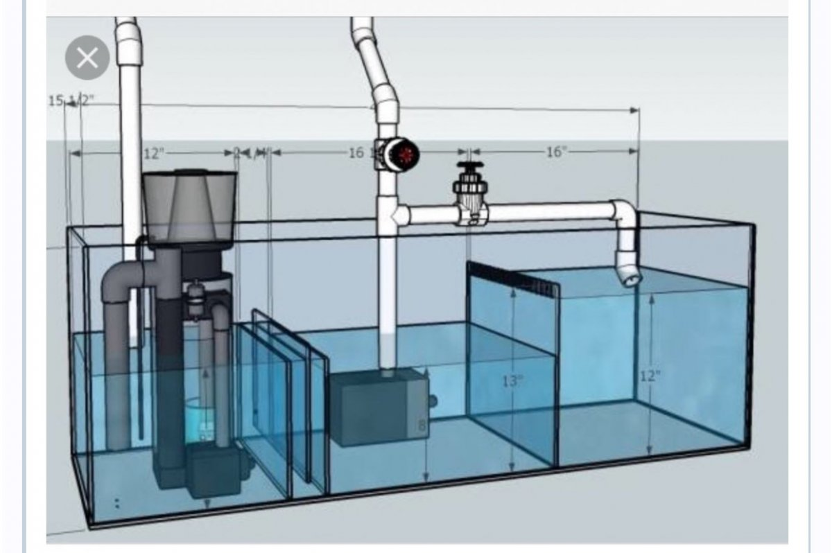 sump design input requested page 3 reef2reef saltwater and rh reef2reef com saltwater aquarium sump design