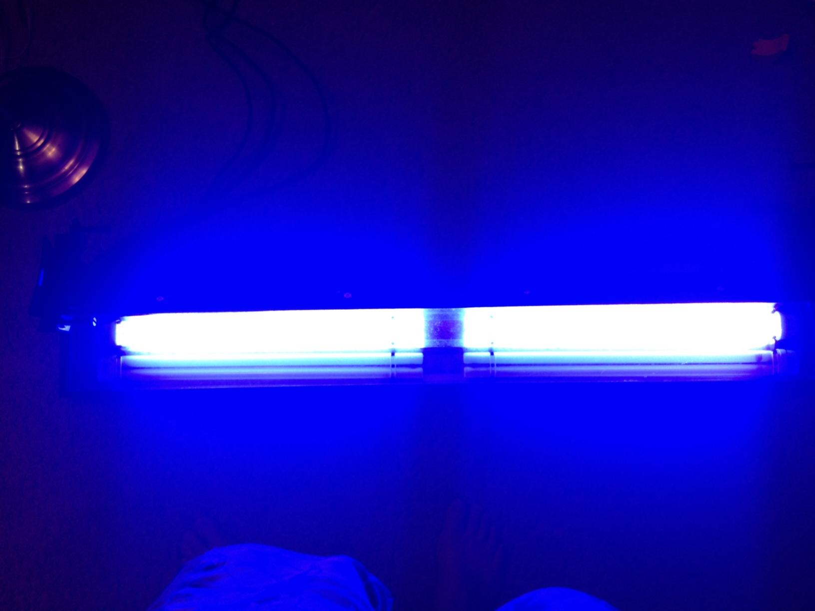 Coralife lunar aqualights compact fluorescent strip lights — pic 5