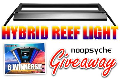 *** NOOPSYCHE'S NEW HYBRID REEF LIGHT GIVEAWAY!! 6 WINNERS!! ***