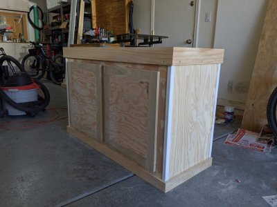 Build Thread 75 Gallon Reef Build With Diy Stand And Canopy Reef2reef Saltwater And Reef Aquarium Forum