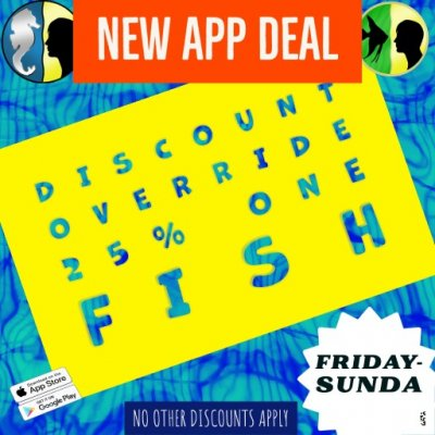 HUGE APP ONLY DISCOUNTS- HOT EUPHYLLIA AND ACROS- MORE FISH HERE