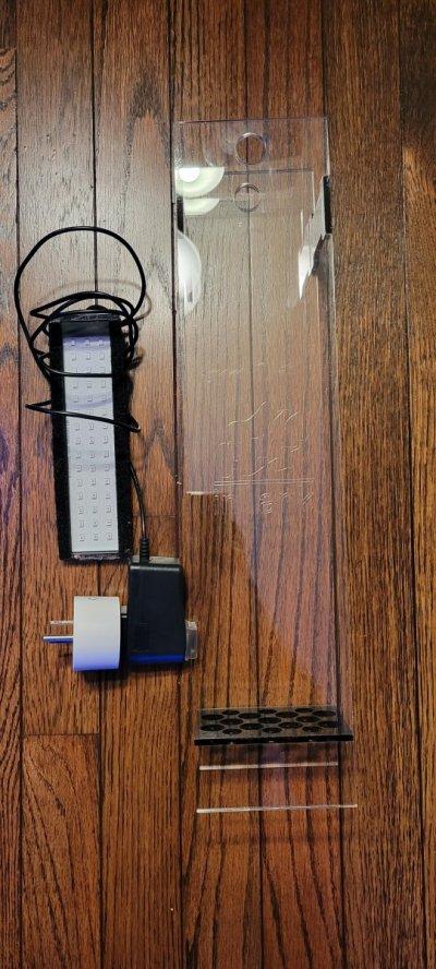 inTank Fuge Basket BioCube32&IM Chaeto led light with smart wifi plug.