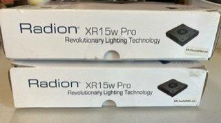 2 Ecotech Radion XR15 G4 Pros (Mobius Ready)