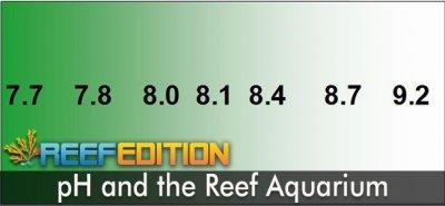 pH And The Reef Aquarium
