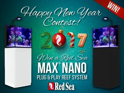 Happy New Year Red Sea MAX NANO Giveaway