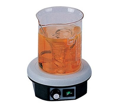Making testing easy with a magnetic stirrer
