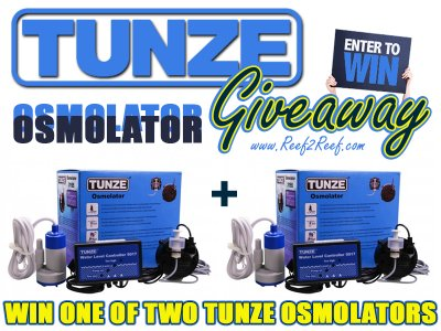 Tunze Osmolator DOUBLE Giveaway! FREE to enter!