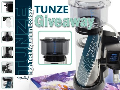 """Where are you"" Tunze Skimmer Giveaway Contest!"