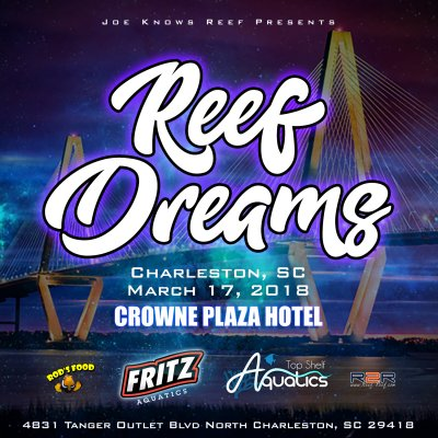 Reef Dreams is a Dream Come True Event for all reef aquarium hobbyists!