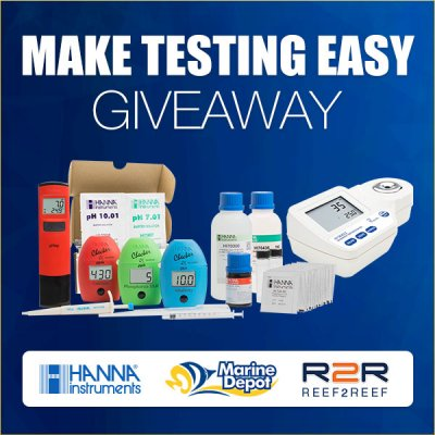 MAKE TESTING EASY! - A New GIVEAWAY From Hanna and Marine Depot