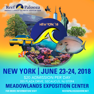 30 Day Count Down - Reef-A-Palooza New York 2018