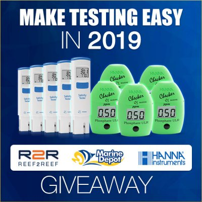 5 WINNERS!! Make Testing Easy in 2019! A New GIVEAWAY from Marine Depot and Hanna Instruments!