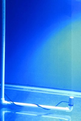 Estimating Light Intensity at Various Depths in an Aquarium