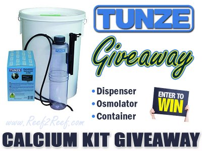 Tunze Calcium Kit with Osmolator GIVEAWAY! This one is easy!