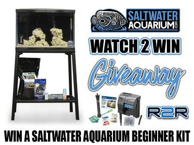 *** Watch 2 Win Giveaway! Win a New Aqueon Nano Tank Setup from SaltwaterAquarium.com ***