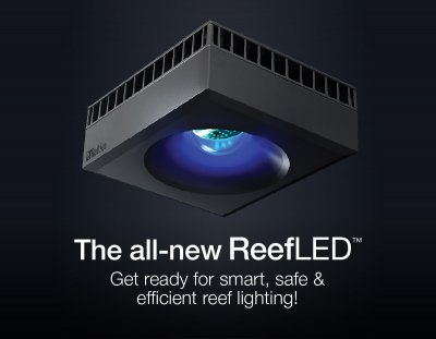 Red Sea's all-new ReefLED™ smart reef lighting!