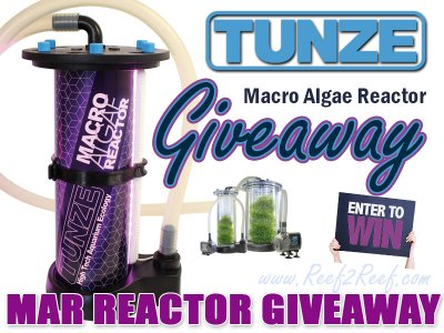 The William S. Tunze Macro Alage Reactor (MAR) Giveaway! BE ONE OF THE FIRST TO OWN!