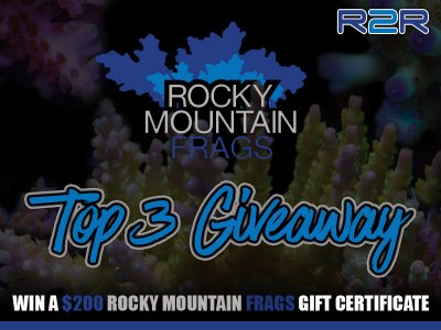 *** TOP 3 GIVEAWAY by Rocky Mountain Frags