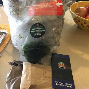 Algae Barn with small heater packet